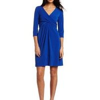 AGB Women`s Three-quarter Sleeve Dress
