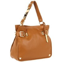 Vince Camuto Louise VIN1020 Shoulder Bag,Camel,One Size