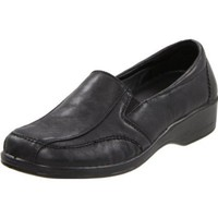 Easy Street Women`s Promise Slip-On Loafer,Black,12 M US