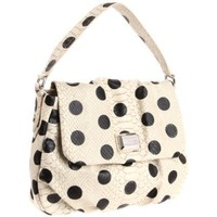 Marc by Marc Jacobs D5 Dotty Lil Ukita Shoulder Bag,Linen Dot Multi,One Size