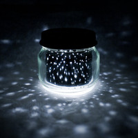 2oz. mini STAR JAR // upcycled constellation nightlight