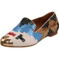 Steven by Steve Madden Women`s Madee-S Flat,Multi Sequin,7.5 M US