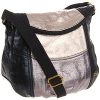 The SAK Deena Flap Cross Body,Metallic Multi,One Size