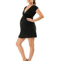 Motherhood Maternity: Babydoll Maternity Swim Cover-up