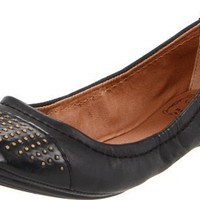 Lucky Women`s Jonny Flat,Black,7 M US