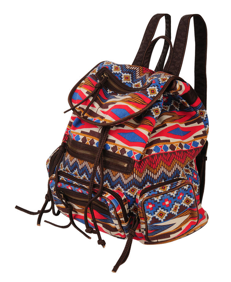 Tribal Print Backpack | FOREVER21 - 1000048039