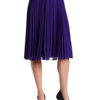 HALSTON HERITAGE Women`s Pleated Skirt