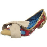 Irregular Choice Women`s Pine Apple Crush Flat Tan 9.5 M US,Tan,9.5 M US