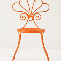Le Versha Chair, Orange