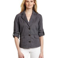 Calvin Klein Jeans Women`s Cinch Back Jacket