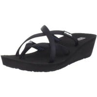 Teva Women`s Mandalyn Sandal,Black,8 M US