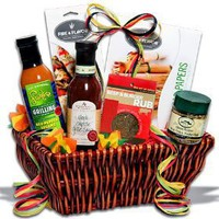 The Barbecue Boss™ - Grilling - BBQ - Marinating - Cooking Condiments Gift Basket