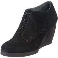 Volatile Women`s Outlaw Wedge Bootie,Black,7 M US