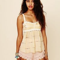 Free People FP New Romantics Babydoll Cami
