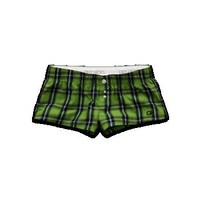 Waverton Plaid Sleep Shorts by Gilly Hicks
