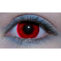 Blood Red Custom Contact Lens