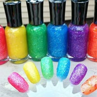 Neon and Glitter and Flakies Oh My - New Tammi&#x27;s Tips Neon Collection