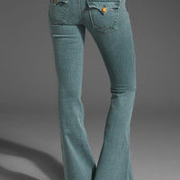 True Religion Raegan Flare in Slate Blue from REVOLVEclothing.com
