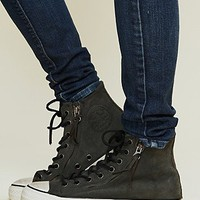 Free People Side Zip Chucks