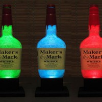 Makers Mark Color Changing LED Remote Controlled Eco Friendly RGB LED by BodaciousBottles