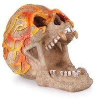 - Open Flames Skull Polyresin Ashtray - each - Other