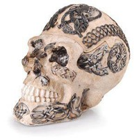- Celtic Skull Polyresin Ashtray - each - Other