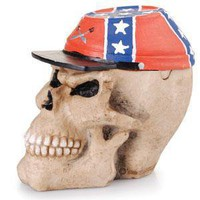 - Rebel Skull Polyresin Ashtray - each - Other