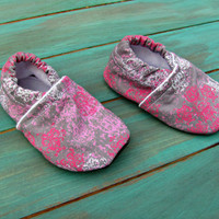Baby Booties for the Baby in Your Family,  0-3 Months, in Hipster Girl