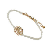 Cream Ditsy Wristwear - Accessories - Miss Selfridge US