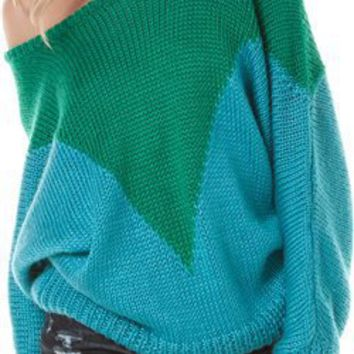 MINKPINK WELLINGTON OVERSIZE SWEATER