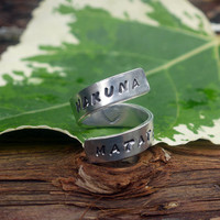 Hakuna Matata Lion King Twist Ring