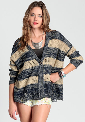Cold Nights Knit Cardigan - $54.00 : ThreadSence.com, Free-spirited fashion for the indie-inspired lifestyle