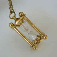 Free shipping Miniature brass sailor working hour by OTJEWELS