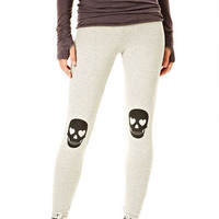 Heart Skull Leggings