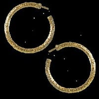 Maggie Filigree Hoop Earrings in Gold-tone - Earring - Kendra Scott Jewelry