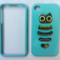 Custom Cell Phone Case- Owl