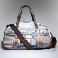 Paul Smith Canvas Holdall Mini Car Bag Travel Bag For Sale