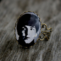 The Beatles vintage style ring