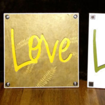 Live Love Laugh Wall Decor - Organize To Your Liking
