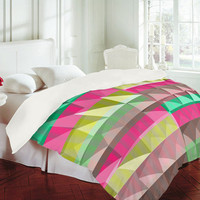 DENY Designs Home Accessories | Jacqueline Maldonado Pyramid Scheme Duvet Cover
