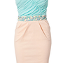 Bandeau Waist Trim Dress, Elise Ryan (Cost is  499....convert to US)