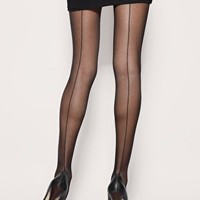 Gipsy | Gipsy French Back Seam Tights at ASOS