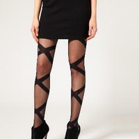 Gipsy | Gipsy Bondage Tights at ASOS