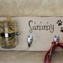 Primitive Shabby Chic Wood Key Holder/DOG Leash Holder Custom