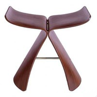 Yanagi Butterfly Stool - Maple - Design Within Reach