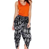 Maisy Ikat Printed Trouser