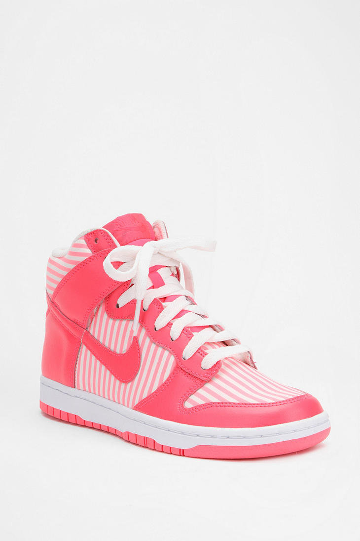 Nike Striped Dunk High Sneaker