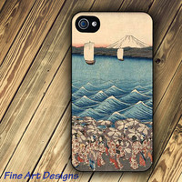 iPhone 4 case and iPhone 4s case with Japanese Art