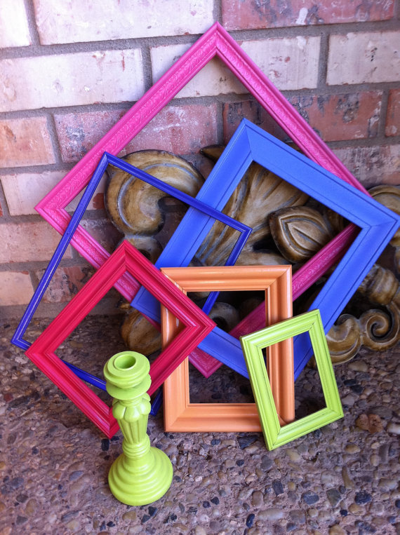 Funky home decor frames hollywood regency from fefifofun for Funky home decor