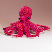 Stuffed Octopus 14 Inch Plush Conservation Critter by Wildlife Artists  at Stuffed Safari.com